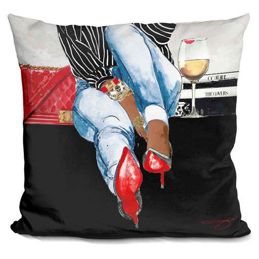 Wine Time I Pillow