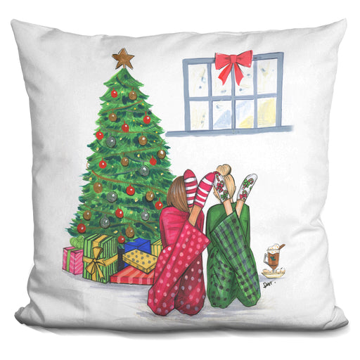 Christmas We Are Together Pillow