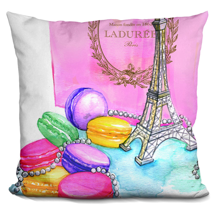 Afternoon In Paris Pillow