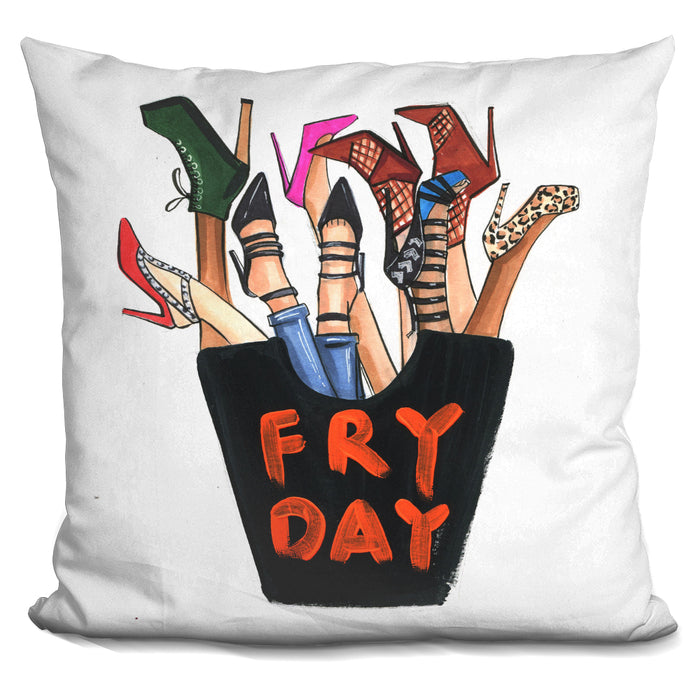 Fry Day Shoes Pillow