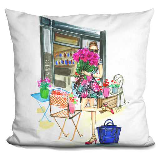 Smell The Flowers Pillow