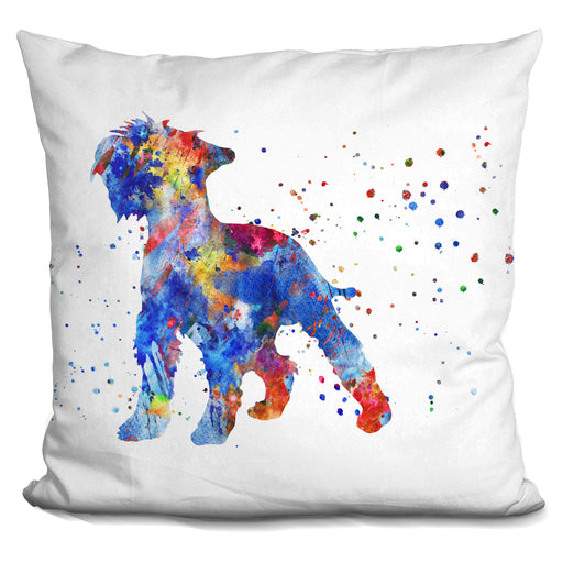 Miniatur German Schnauzer Pillow
