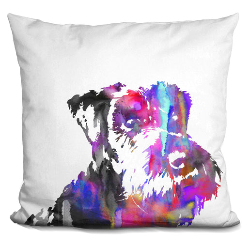Miniature Schnauzer I Pillow