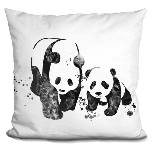 Pandas Bw Pillow