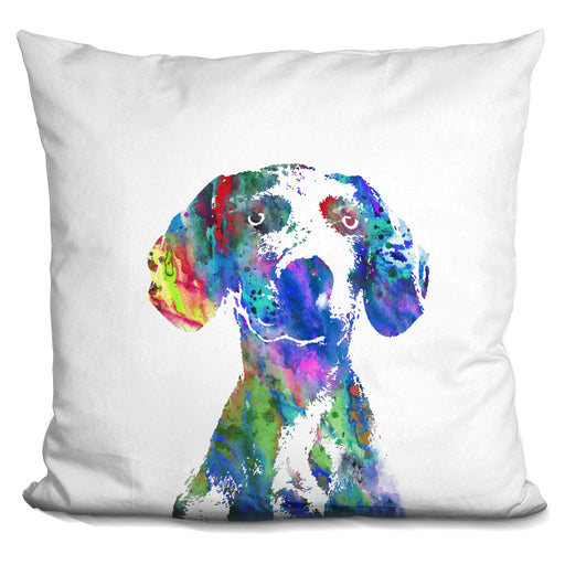 Weimaraner Portrait Pillow