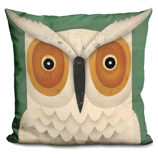White Owl Pillow