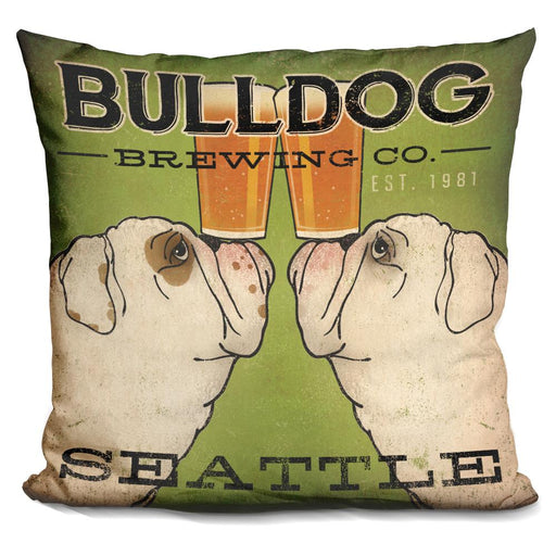 Bulldog Brewing Seattle Pillow
