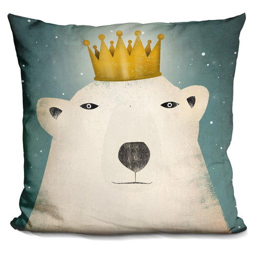 Polar King RGB Layered File Pillow