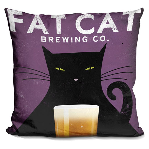 Cat Brewing Pillow