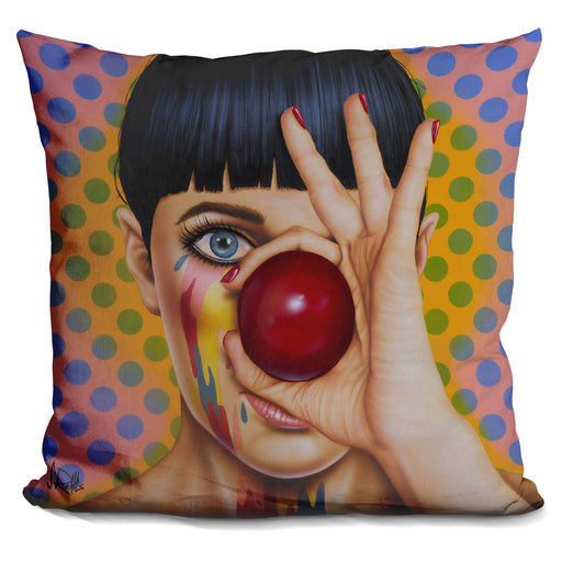 Tears Of A Clown Pillow