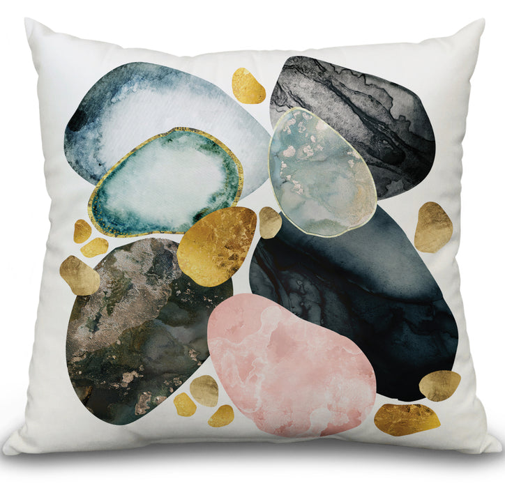Pebble Abstract Pillow