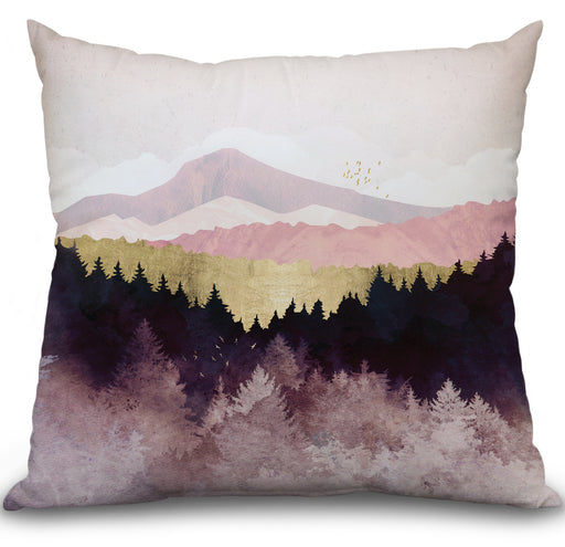 Plum Forest Pillow