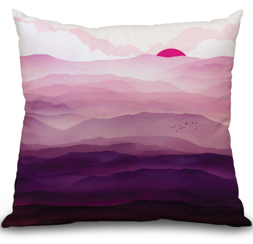 Ultra Violet Day Pillow
