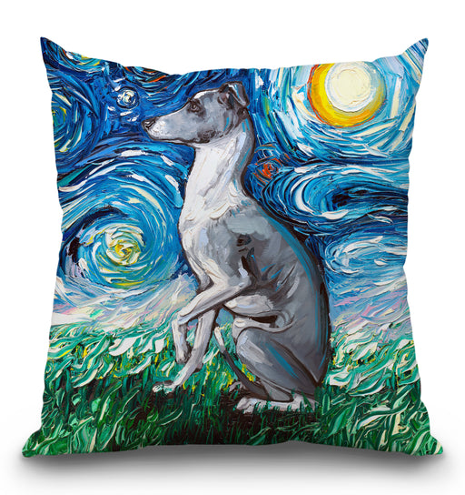 Whippet Pillow