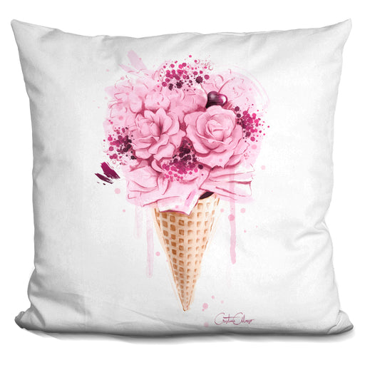 Ice Cream Bouquet Pillow