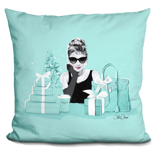 Breakfast At Tiffanys Pillow