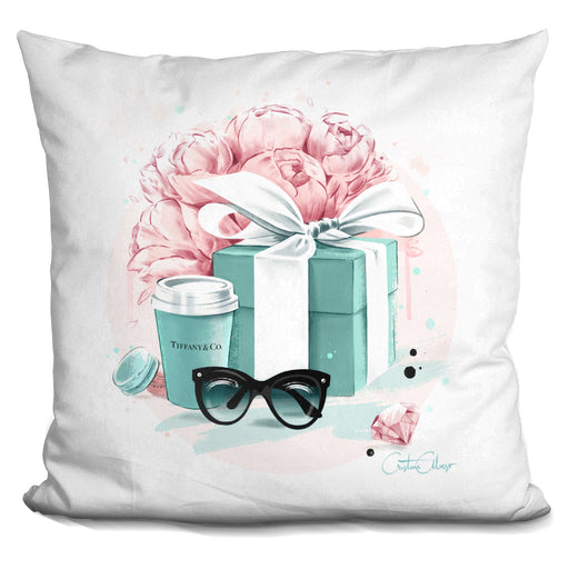 Tiffany Blue Pillow