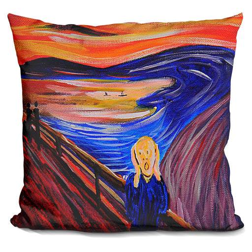 Classic The Scream Pillow