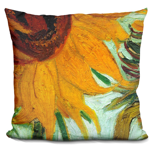 Twelve Sunflowers Pillow