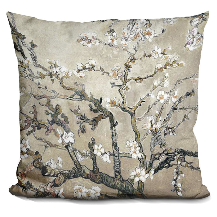 Almond Branches Pillow