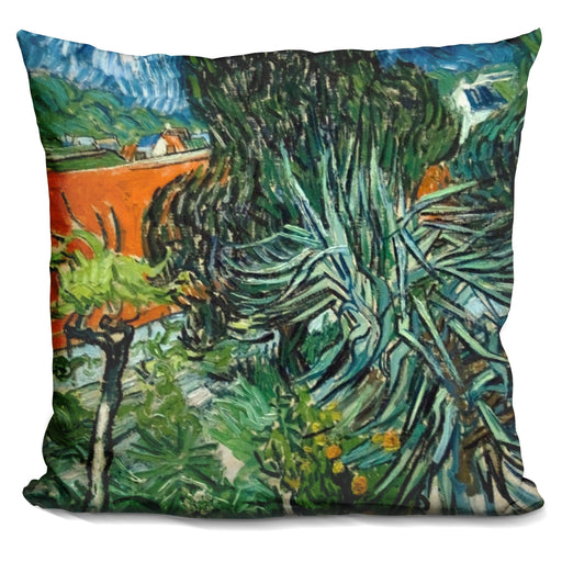 Doctor Gachet'S Garden In Auver Pillow