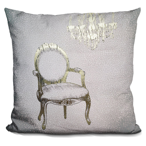Gilded Furniture Ii Pillow