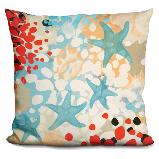 Exotic Sea Life I Pillow