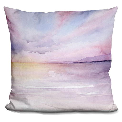 Pale Sunset Pillow