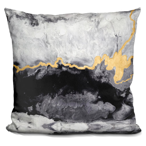Gilded Onyx Pillow