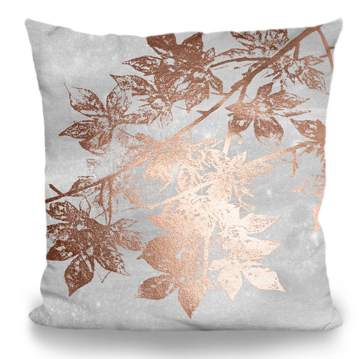 Bronze Leaves Pillow