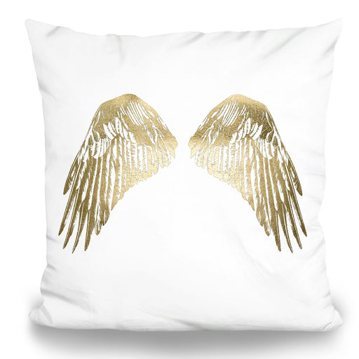 Gold Wings Pillow