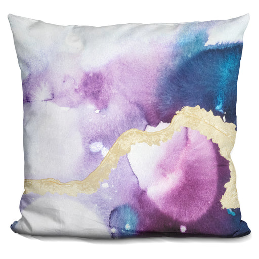 Ice Crystals Iii Pillow