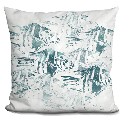 Sealife Batik I Pillow
