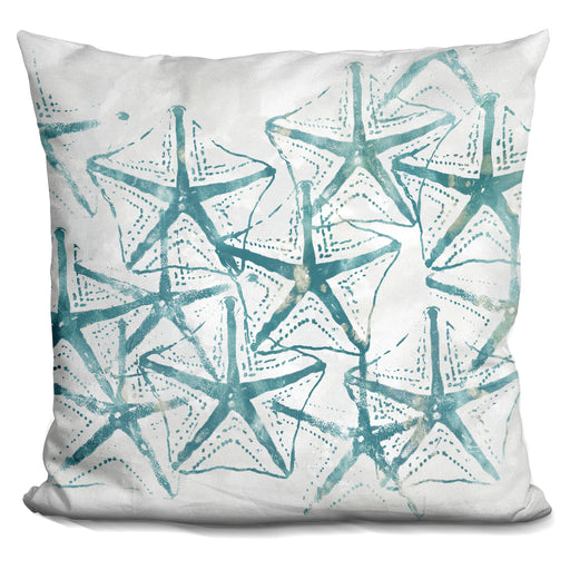 Sealife Batik V Pillow