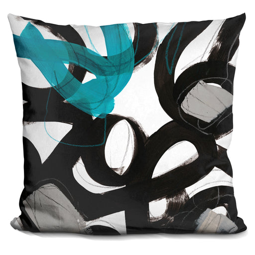 Chromatic Impulse Iii Pillow