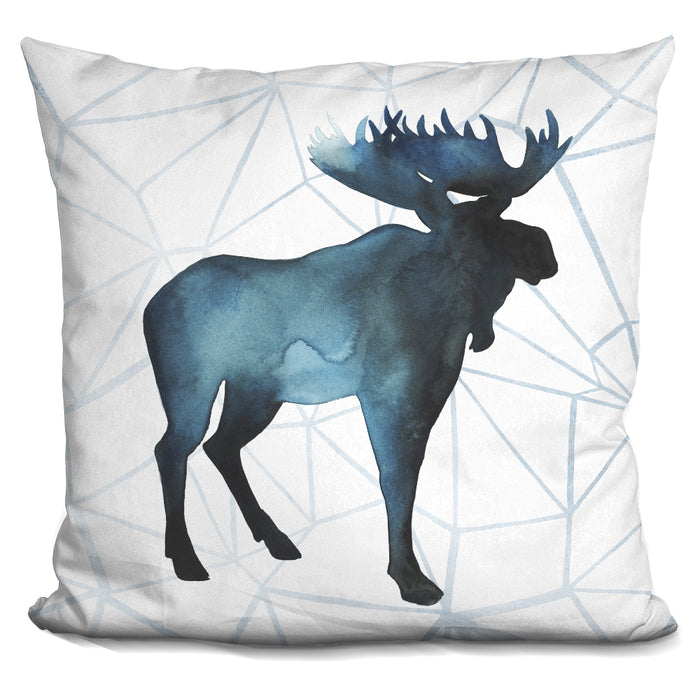 Animal Silhouettes Iii Pillow