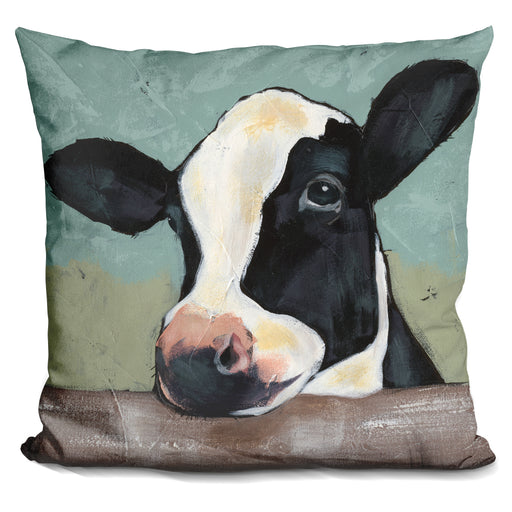 Holstein Cow Ii Pillow