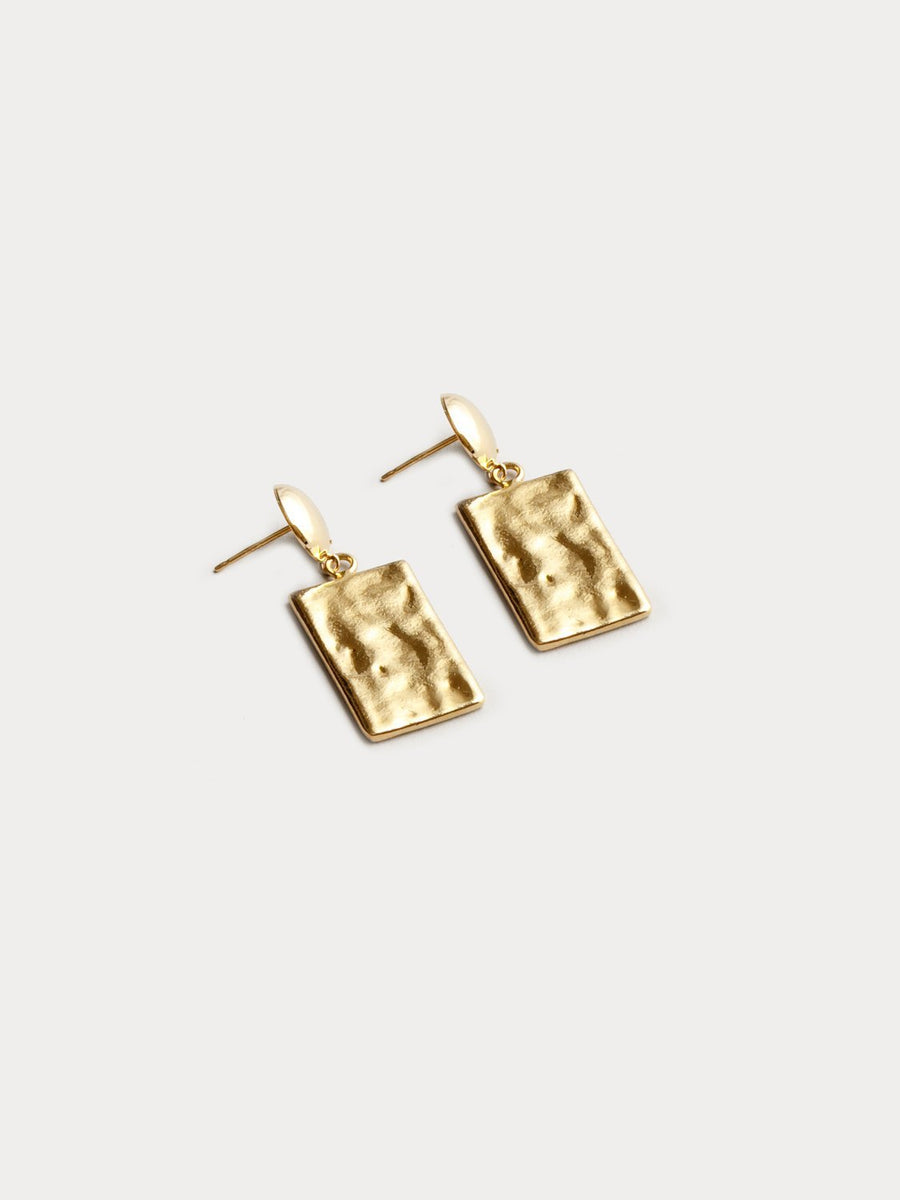 Bardot Earrings in Gold