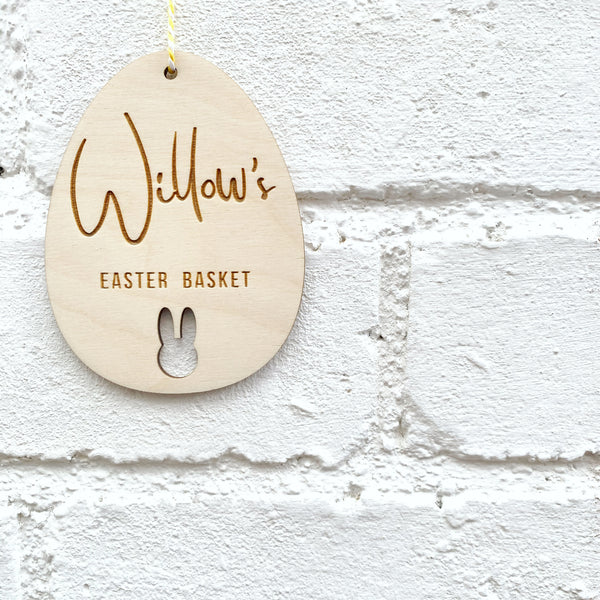 PERSONALISED EASTER EGG KEEPSAKE