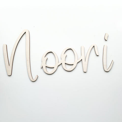 PENCILLED WALL LETTERS