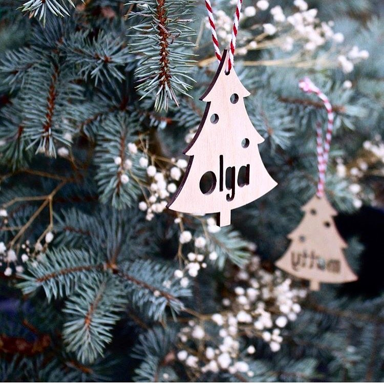 PERSONALISED CHRISTMAS TREE DECORATION