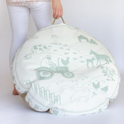 FLOOR CUSHION / BEAN BAG - WILLOW FARM