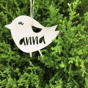 PERSONALISED CHICK KEEPSAKE
