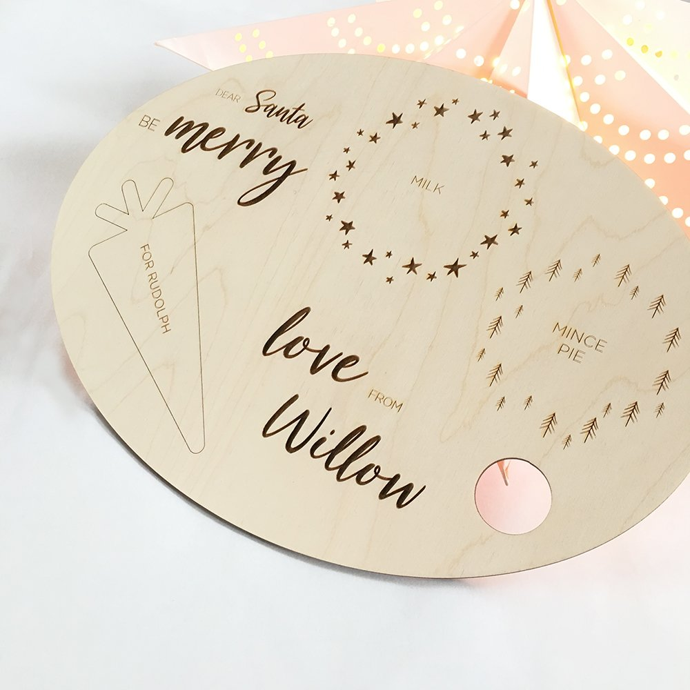 PERSONALISED CHRISTMAS EVE TRAY