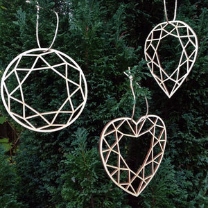 DIAMOND CUT DECORATIONS