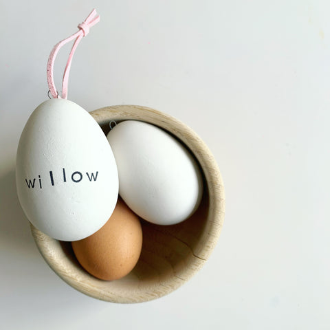 PERSONALISED CERAMIC EASTER EGG
