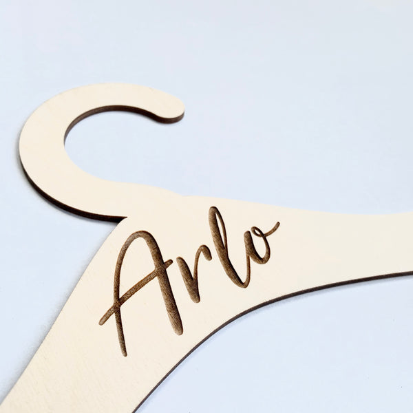PERSONALISED MINI COAT HANGER