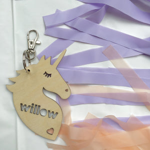 UNICORN BAG TAG / KEEPSAKE