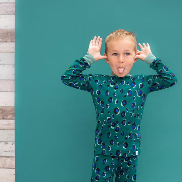 Jade Animal Pyjama Set