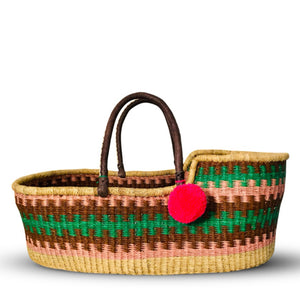 MEADOW - HANDMADE MOSES BASKET